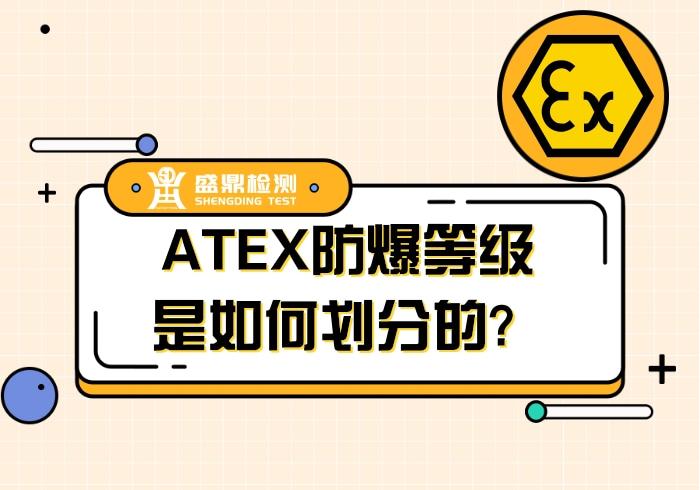 ATEX防爆等级划分