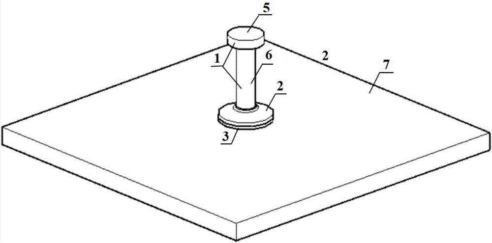 胶粘式原理图