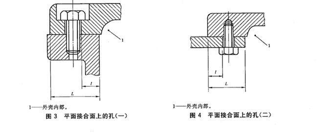 隔爆型横截面结构图纸