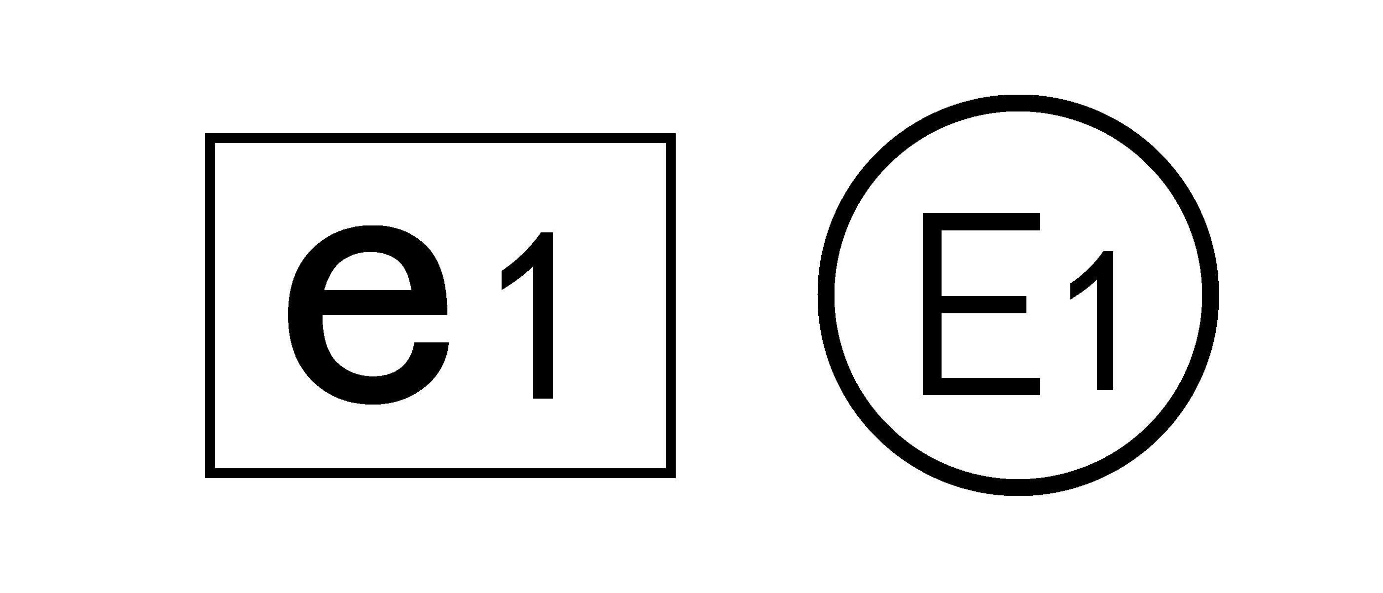 大写E标志和小写e标志