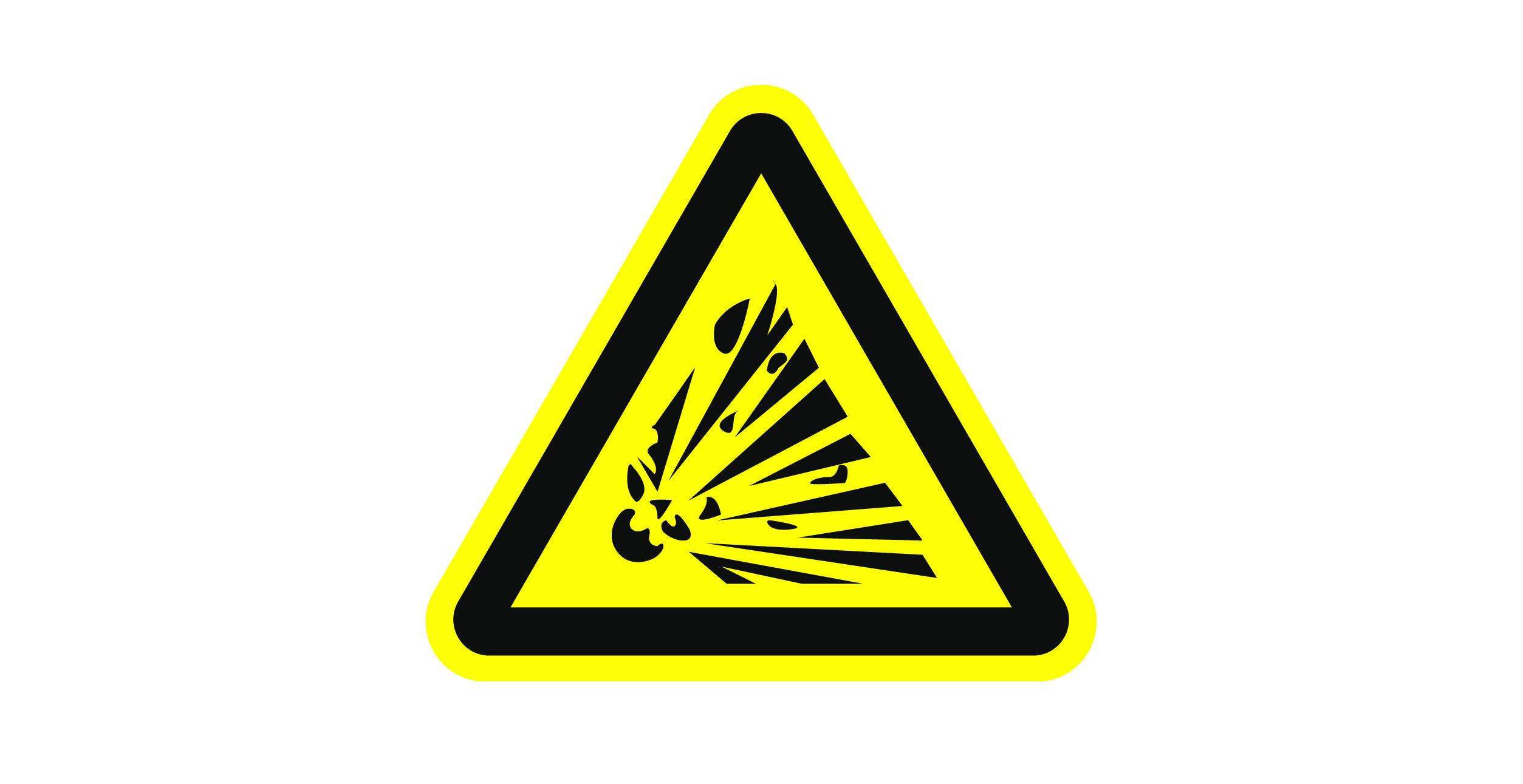粉尘防爆标志