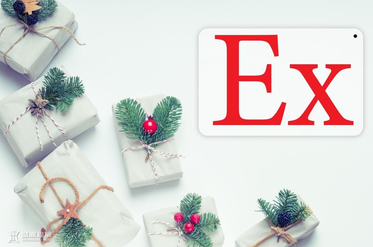 防爆标志:Ex